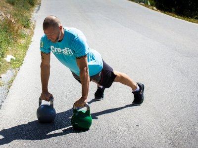 CrossFit Yapın, Kendinizle Yarışın!